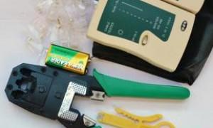 电话交换机的初级安装教程之-电话线RJ11电话水晶头安装方法,以及必备工具