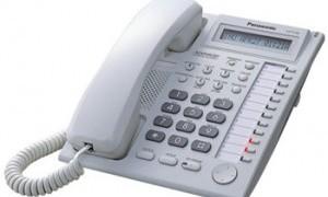 KX-T7730设置来电去电查询快捷按键的代码
