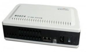 一台新的WS824-3i录制语音录不进去,原来是001号的端口搞错了