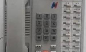 出售二手国威WS824-2C编程电话机,在大部分国威电话交换机上可使用