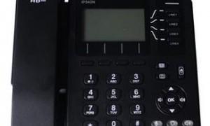 北京飞音时代IP542N,WIFI功能的VOIP电话机,支持SIP协议,可升级成中文界面