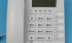 赛纳国威WS824-3200C电话交换机专用,办公电话机,有来电显示,转接键,代接键