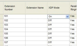 松下TDA200混合板上的模拟分机和数字电话号码分开的编程