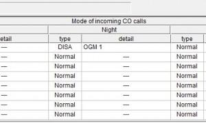 用软件设置外线连接方式,松下KX-TES824,到话务员,或直接响铃