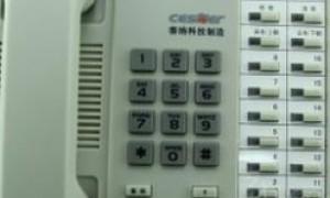WS824-2C的电话机,接上普通电话线没有声音,必须使用4芯电话线