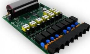 安装赛纳国威WS824-9i分机板,008C内线板,可扩展8部分机