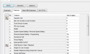 松下TDA系列选择外线出局的代码*37001-*37002