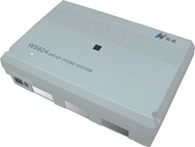 国威WS824-9F集团电话交换机
