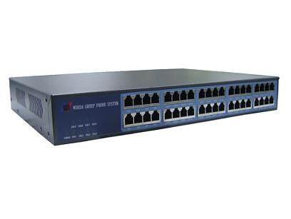 国威WS824-11可上机柜集团电话交换机报价