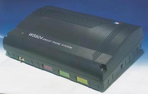 国威WS824-9D数字集团电话交换机,可扩容,大型机