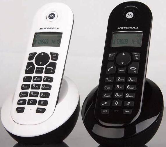 国威无线电话交换机专用子机是由Moto定制的2.4G无绳电话机