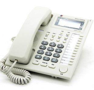 国威WS824-3100C办公电话机报价,最新的3100C价格参考,有快捷键功能方便转接