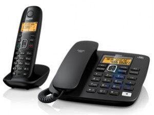 西门子无绳电话机Gigaset -A280此主机可以用来当做分机电话可以一拖四子机