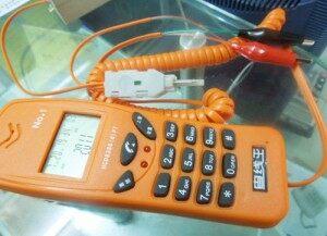 电话测线机,专门用来测试线路信号,施工人员必备之工具系列