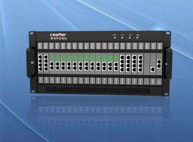WS824-NSN9000S-单层5U设计机架式30外线136分机数字交换机