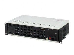 深圳赛纳国威WS824-10F,最大10外线56分机,标准19英寸机柜电话交换机