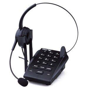 北恩 VF630 呼叫中心耳机电话,这是话务中心的话务员使用的专用电话机