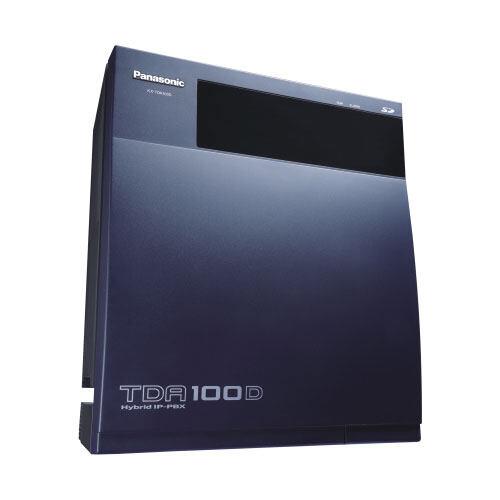 松下Panasonic KX-TDA100D混合IP-PBX集团电话交换机扩展性更强