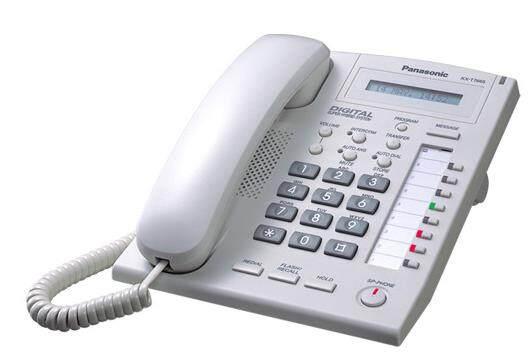 松下KX-T7665CN单行显示全免提数字话机,可用于TDA100和TDA200当前台功能电话