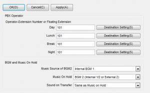 TDA200设置拨0回总机,设置外线呼入的总机号码参数